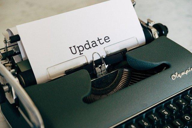 schreibmaschine-schriftzug-update
